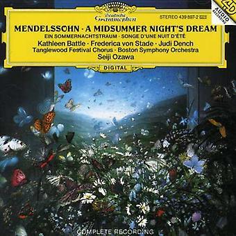 Battle/Ozawa/Boston Symphony Orch. - Felix Mendelssohn Bartholdy: A Midsummer Night's Dream [CD] USA import