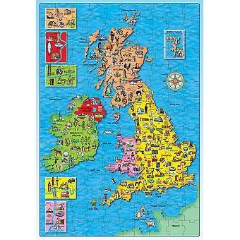Orchard Great Britain and Ireland puzzle New