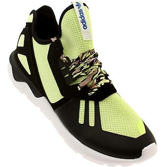 adidas Tubular Runner Mens Trainers / Shoes - Black and Lime