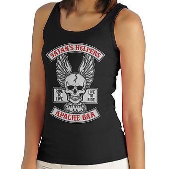 Satans Helfer Apache Bar Sons Of Anarchy Damen Weste