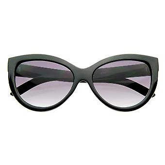 High Temple Bold Retro Womens Mod Updated Cat Eye Sunglasses
