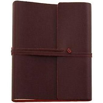 Coles Pen Company Saffiano Extra Large Leather Photo Album - Burgundy