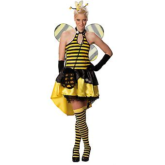 Animal kostumer Sexy bee dress damer fancy kjole