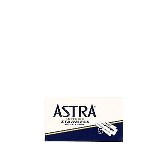 Astra Superior rustfrit Double Edge barberblade (5 klinger)