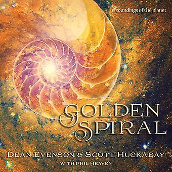 Evenson, dekan / Huckabay, Scott - gyldne Spiral [CD] USA import