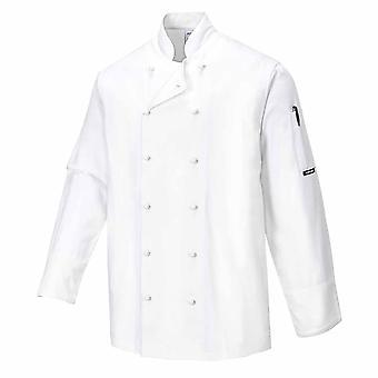 Portwest - ノリッジ シェフ キッチン作業服ジャケット