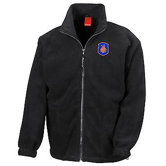 Esercito degli Stati Uniti 98 ° divisione di fanteria ricamato Logo - Felpa con Zip