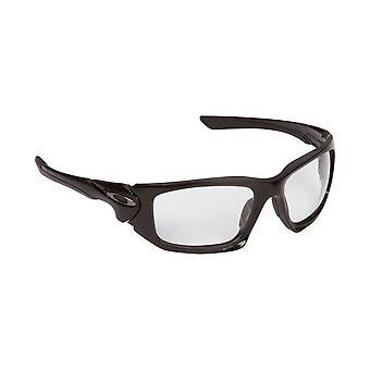Scalpel Replacement Lenses Black & Crystal Clear by SEEK fits OAKLEY Sunglasses