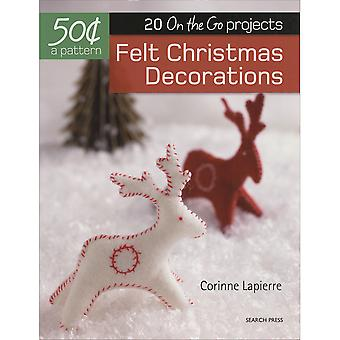 Search Press Books-Felt Christmas Decorations SP-15066