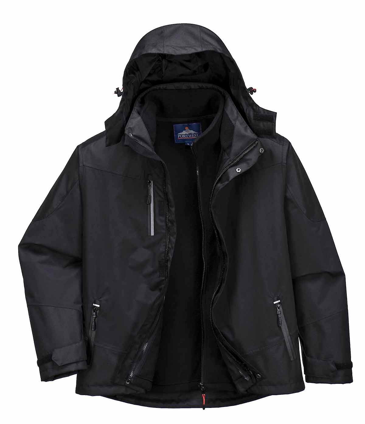 SUw - radiale 3 en 1 veste imperméable de vêteHommests de travail