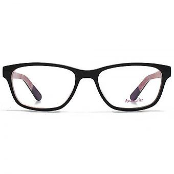 Accessorize Square Glasses In Black