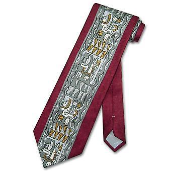 イタリア幾何学的なデザイン メンズ ネクタイ #3102 4 で行われたアントニオ ・ リッチ シルク ネクタイ