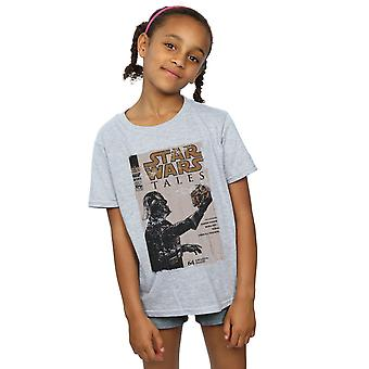 Star Wars ragazze Darth Vader fumetti t-shirt
