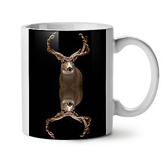 Deer Beast Art Animal NEW White Tea Coffee Ceramic Mug 11 oz | Wellcoda