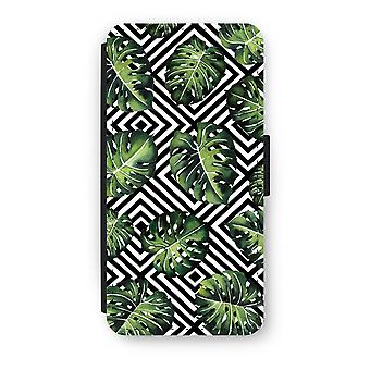 Samsung Galaxy S8 Flip Case - Geometric jungle