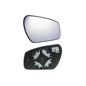 Right Mirror Glass (heated circular attachment) & Holder for Ford C-MAX 2007-2010