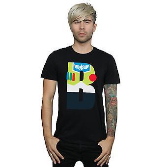 Disney Men's Alphabet B Is For Buzz Lightyear T-Shirt