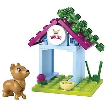 Sluban Dream Girls Dog With Caseta 19 Pieces (Babies and Children , Toys , Constructions)