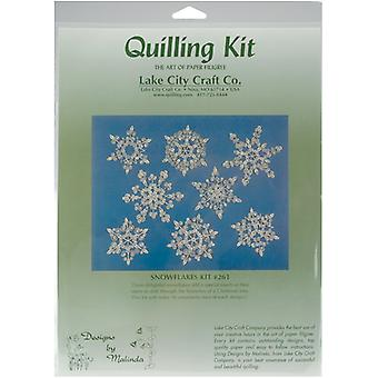 Quilling Kit Snowflakes Q261