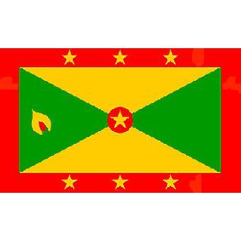 Grenada Flagge 5 x 3 ft mit Ösen für hängende