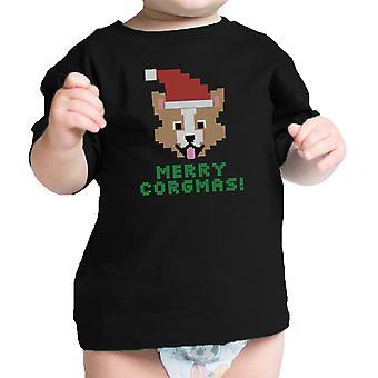Merry Corgmas Corgi Funny Infant Graphic Shirt Cute Dog Mom Gifts