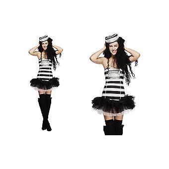 Kleid mit sexy Gefängnis für Damen Kostüme für Damen