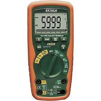 Extech EX520 Handheld multimeter Digital Waterproof (IP67) CAT III 1000 V, CAT IV 600 V Display (counts): 6000