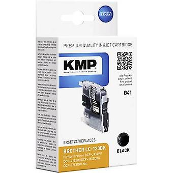 KMP Ink replaced Brother LC-123 Compatible Black B41 1525,0001