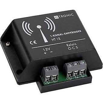 H-Tronic HT1E trådløs modtager 1-kanalfrekvens 868,35 MHz 12 VDC