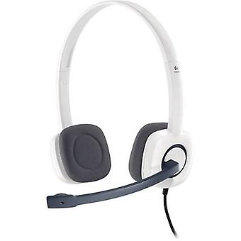 PC headset 3.5 mm jack Corded, Stereo Logitech H150