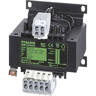 Murr Elektronik 6686342 Safety transformer 1 x 230 V, 400 V 1 x 24 V AC 100 VA