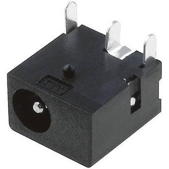Cliff DC-8 Low power connector Socket, horizontal mount 4 mm 1.3 mm 1 pc(s)