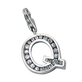 Single earrings-925 /-s Q letter pendant silver letters silver Q