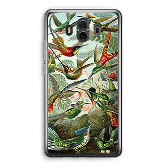 Huawei Mate 10 Transparent Case (Soft) - Haeckel Trochilidae