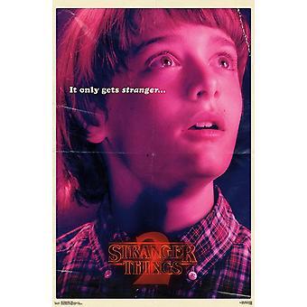 Stranger Things 2 - Will Poster Print