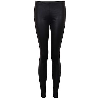 Ladies American Style Disco hoher Taille Shiny PVC Frauen Leggings Hosen