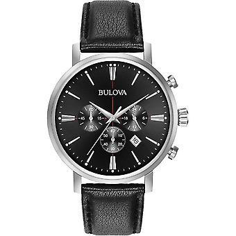 Bulova mens watch classic chronograph 96 B 262