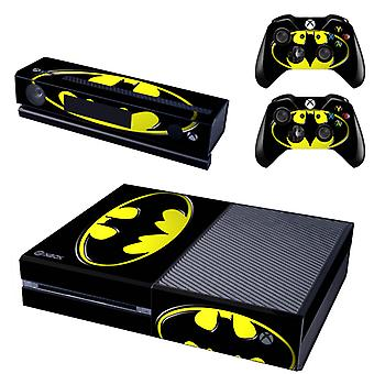 REYTID Batman Xbox One Console Skin / Sticker + 2 x Controller Decals & Kinect Wrap - Full Set - Microsoft XB1
