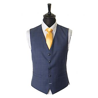 Antique Rogue Prince Of Wales Checked Waistcoat