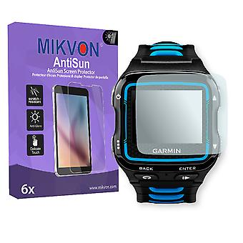 Garmin Forerunner 920XT Screen Protector - Mikvon AntiSun (Retail Package with accessories) (reduced foil)