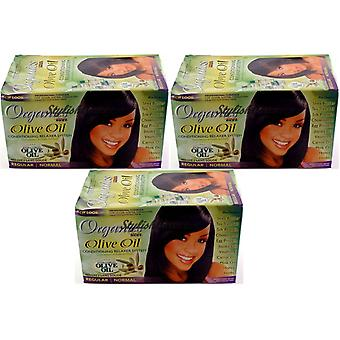 Africa's Best Organics Conditioning Relaxer System Regular (3-Pack)