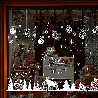 Christmas Cabin removable Home wall stickers Vinyl window Decal home decor accessories for home Pegatinas the equation # TX
