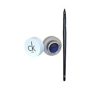 Calvin Klein CK One Eyeliner Gel with Brush-Blue Haze