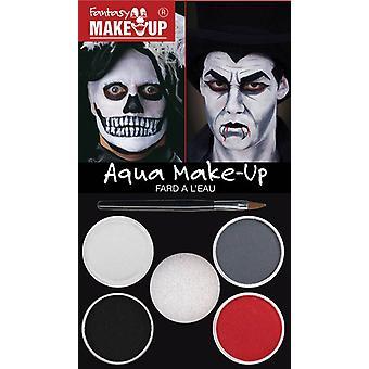 Dracula/Skull Aqua Make Up Kit.