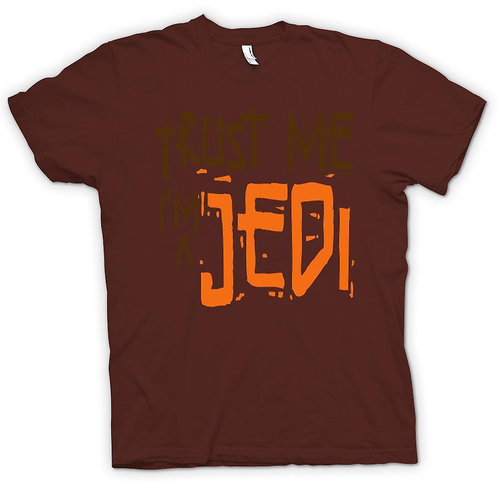 Mens t-skjorte - stol på meg jeg er en Jedi - morsom