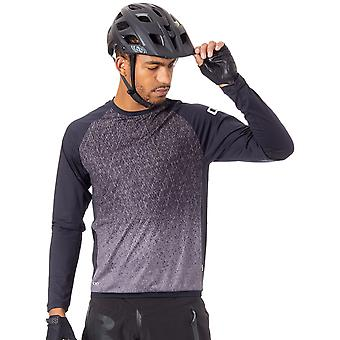 Ion Black 2018 Traze AMP Long Sleeved MTB Jersey