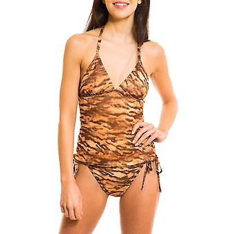 Kiniki Sara Tan através de Tankini Top Womens Swimwear
