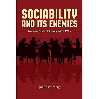 Sociabilidad y sus enemigos: teoría política alemana después de 1945
