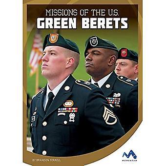 Missioni degli Stati Uniti Green Berets (forze speciali militari in azione)