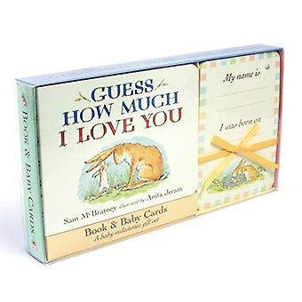 Guess How Much I Love You: Baby Milestone Moments: Board Book and Cards Gift Set (Guess How Much I Love You) [Board book]